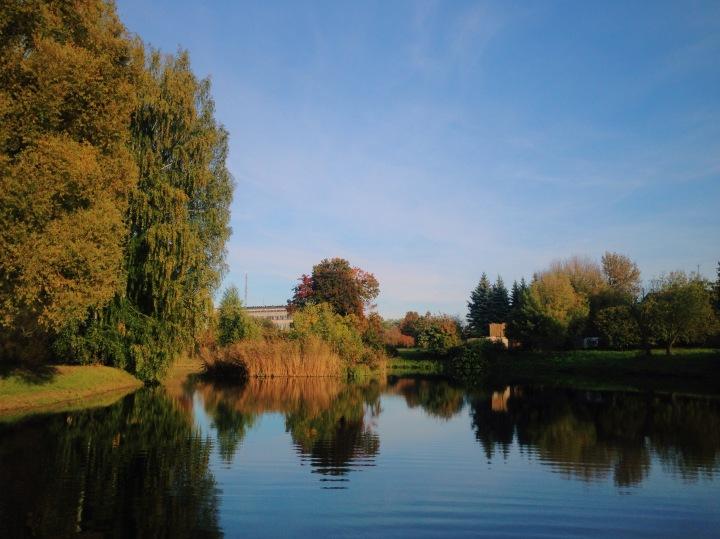 Botanical garden in my hometown Salaspils, Latvia