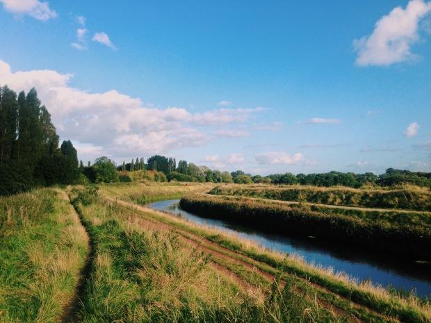 Ivy Green and River Mersey, Chorlton