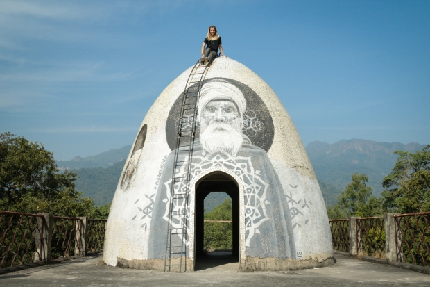 Beatles Ashram Rishikesh India