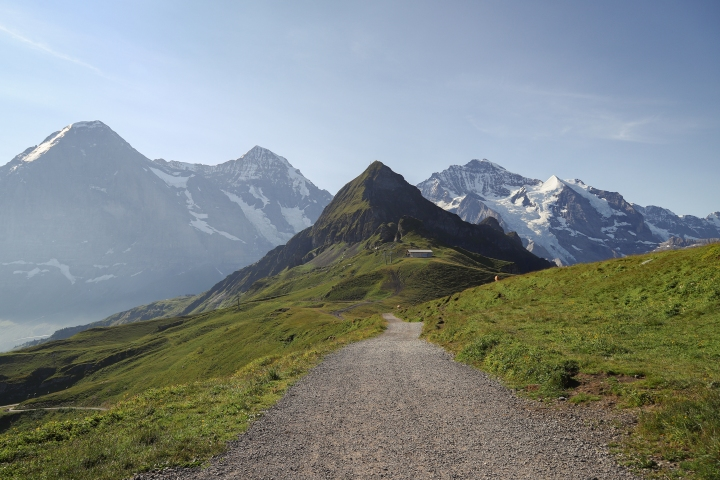 Panorama Trail Männlichen to KleineScheidegg